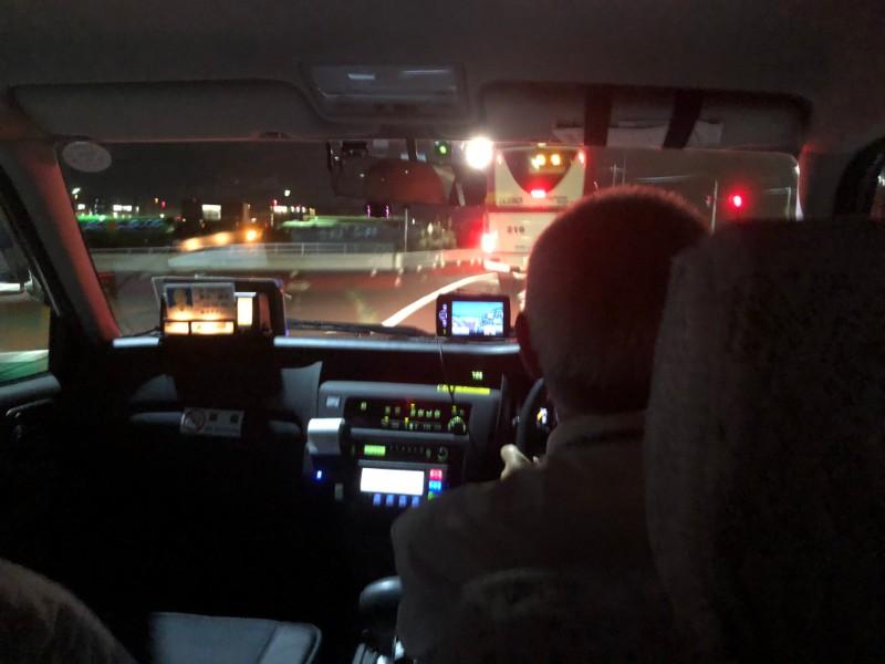 成田と羽田を間違えてタクシーに乗った時のタクシーメーター3